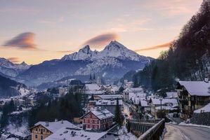 Бесплатные фото Берхтесгаден,город,Bavaria,Германия