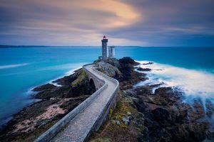 Photo free France, Lighthouse du Petit Minu, Phare du Petit Minou