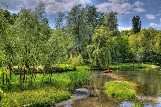 Фото бесплатно пейзаж, река, Киев