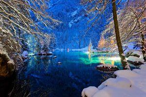 Фото бесплатно Швейцария, пейзаж, долина Кандер