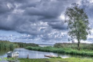 Фото бесплатно река, дерево, причал