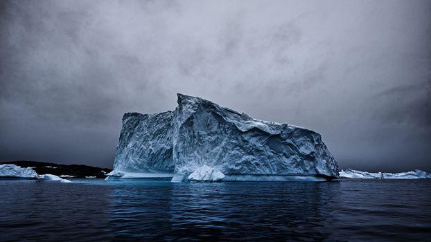 Photo free iceberg, ocean, snow
