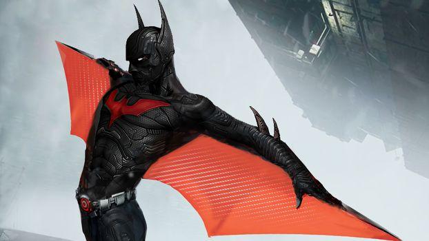 Заставки Batman Beyond, Batman, супергероев