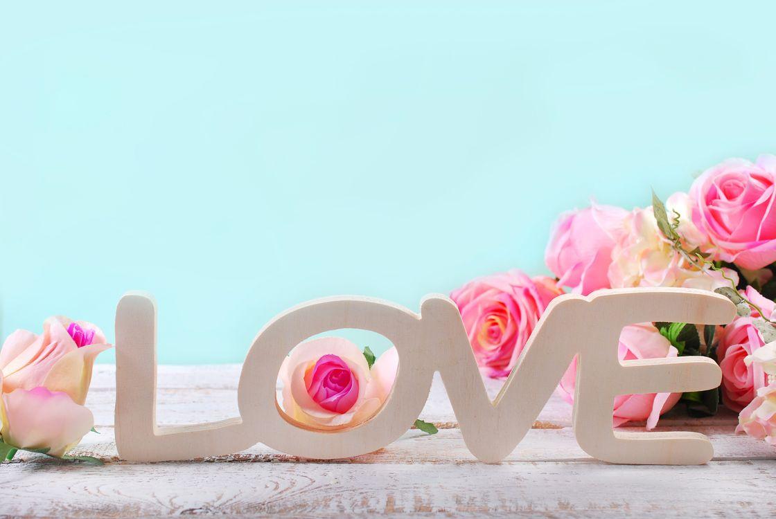 Фото бесплатно любовь, сердце, пастель, цветы, настроения