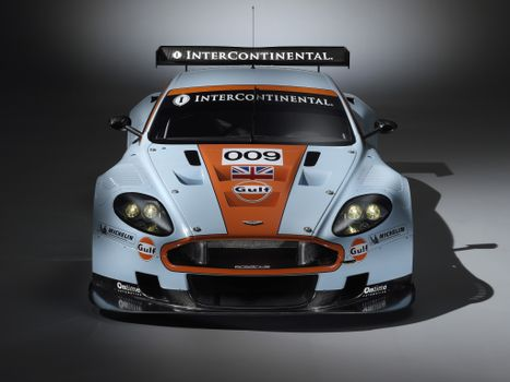 Photo free Aston Martin, white, orange