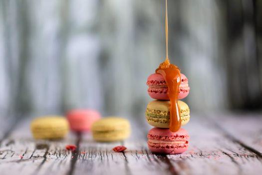 Печенье с карамелью · бесплатное фото