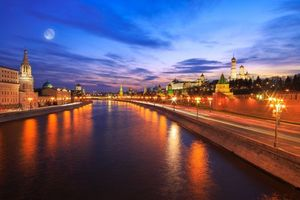 Photo free Moscow, Russia, Moscow River