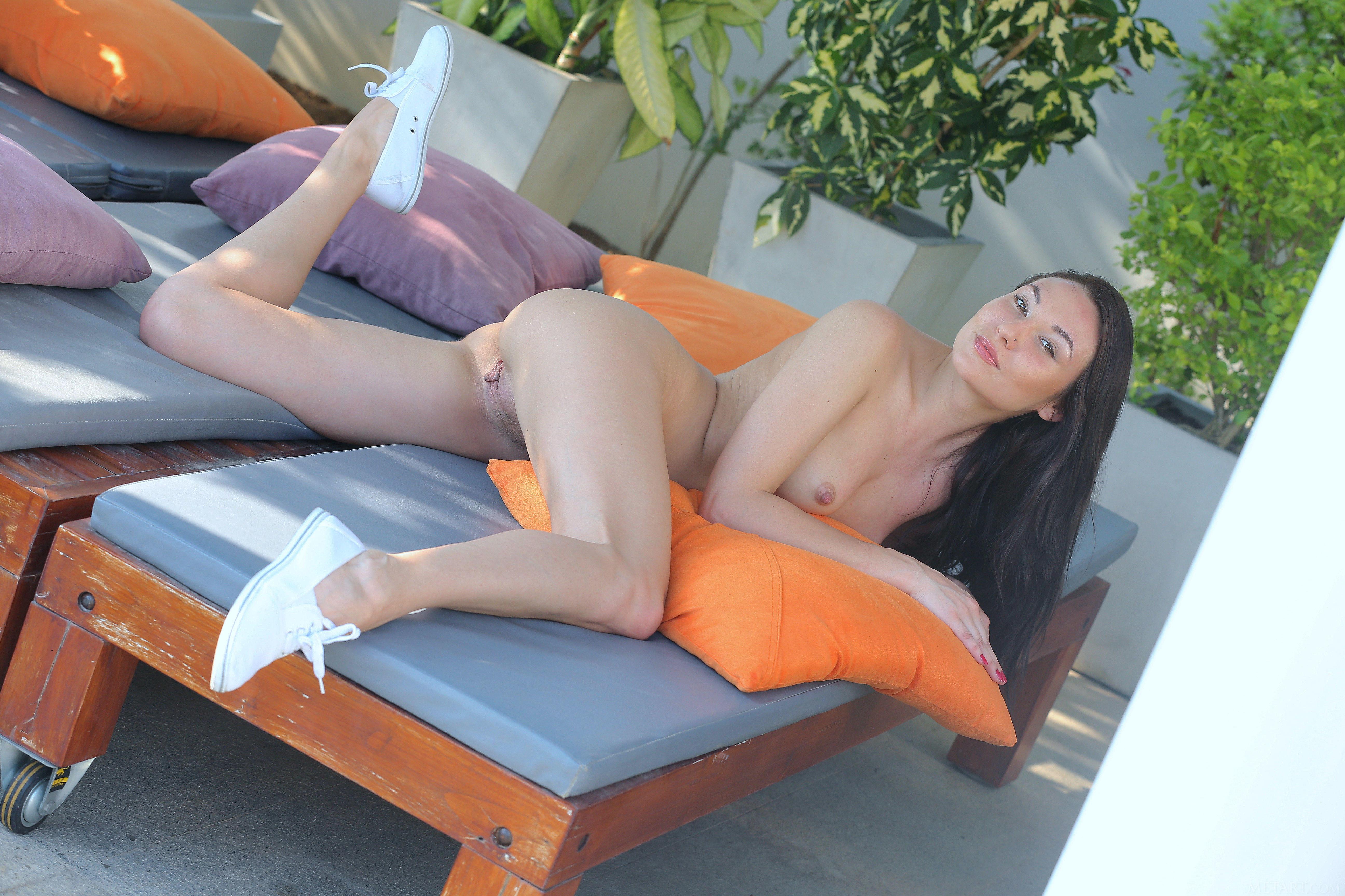 Обои Beth, красотка, голая, голая девушка