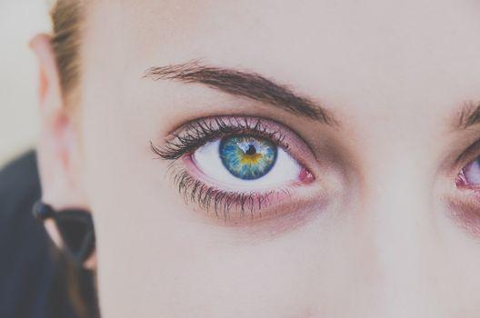 Фото бесплатно девушки, глаза, модель