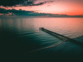 Фото бесплатно пейзаж, облака, закат
