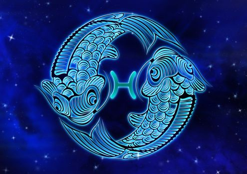 Photo free Pisces, zodiac sign, horoscope