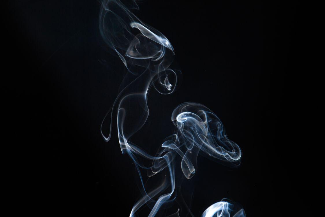 Фото бесплатно дым, саван, темный фон - на рабочий стол