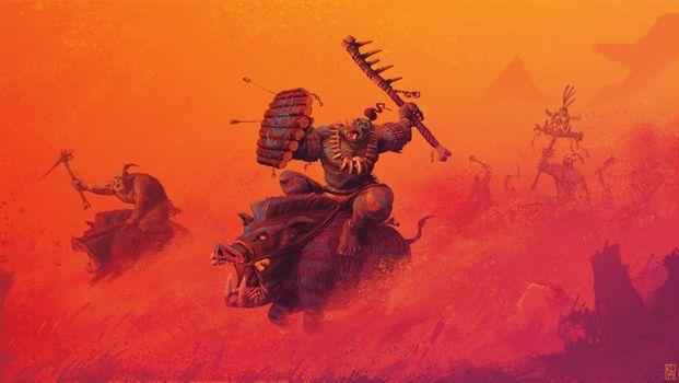 Заставки Total War Warhammer, игра, Pc Games