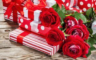 Фото бесплатно праздник, бутоны, день святого валентина