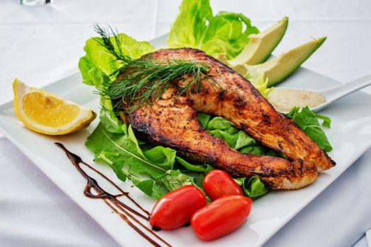 Photo free dinner, dish, fillet