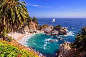 Бесплатные фото тропики,море,яхта