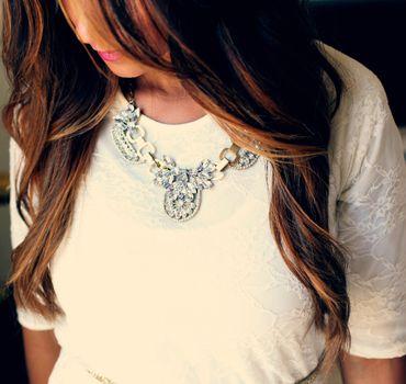 Photo free girl, hair, white