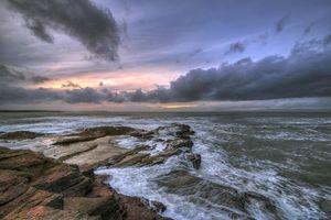 Бесплатные фото Пляж Бундоран,графство Донегал,Ирландия,закат,море,пейзаж