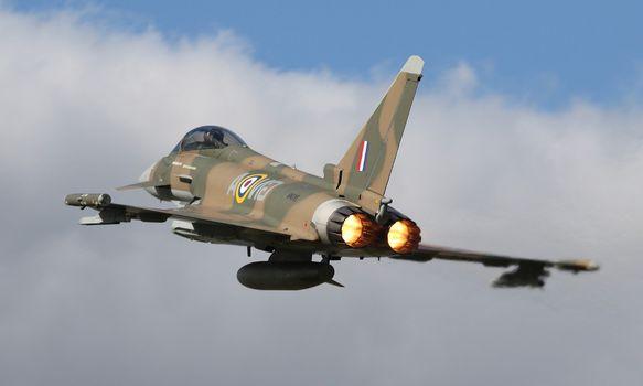 Фото бесплатно Еврофайтер Тайфун, самолеты, полет