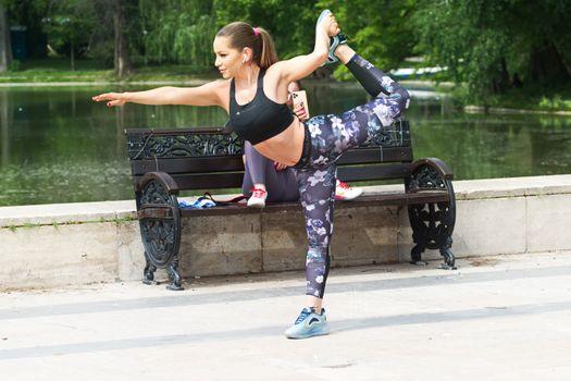 Фото бесплатно женщина, спортивное, коричневые волосы