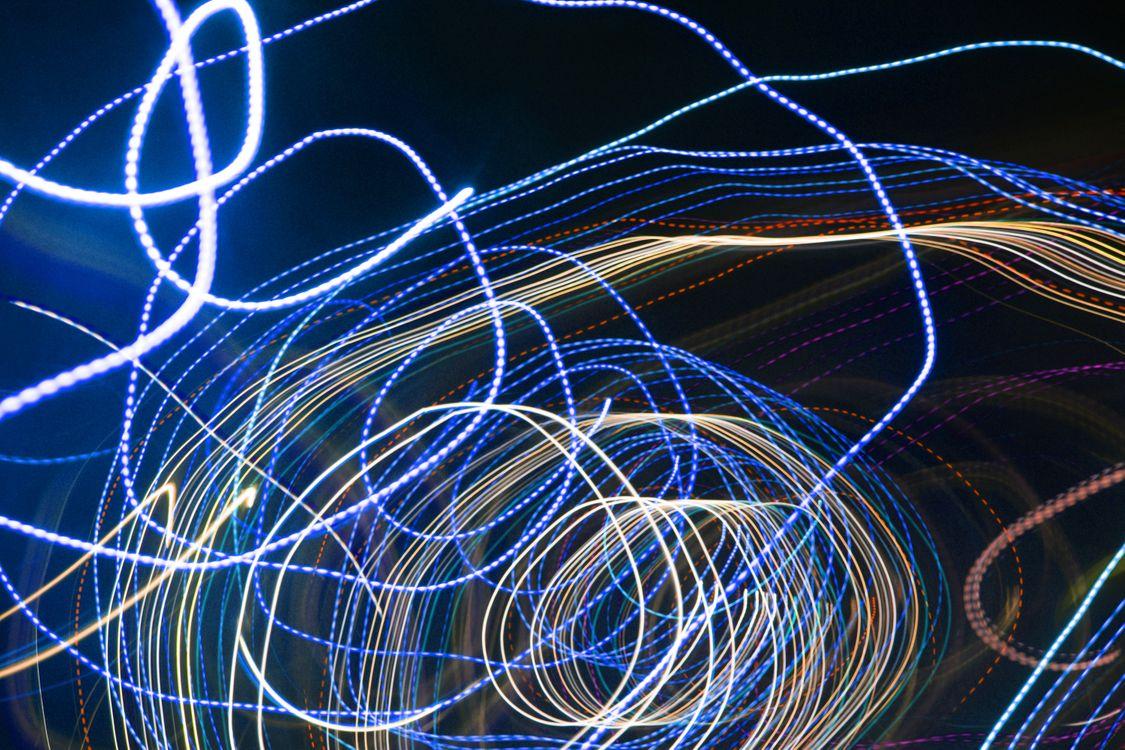 Фото бесплатно полосы, свечение, светится - на рабочий стол