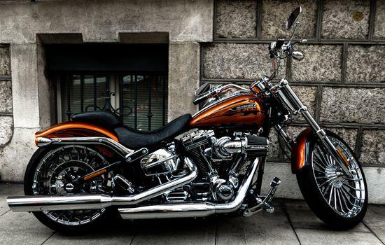 Фото бесплатно мотоцикл, велосипед, вид сбоку