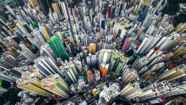 Photo free cityscape, city, colorful