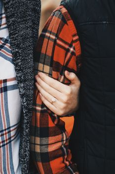 Заставки руки, пара, кольцо