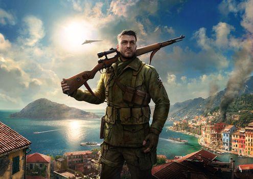 Фото бесплатно Снайпер Элита, игра, игры PS