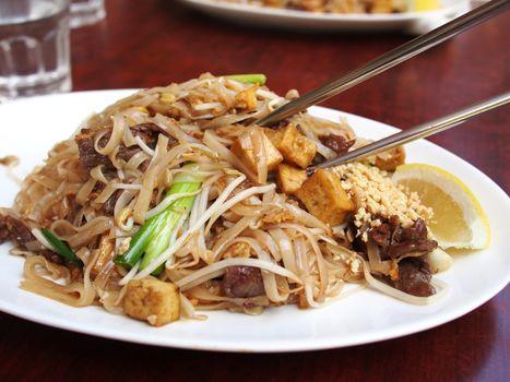 Заставки азиатка, блюдо, еды