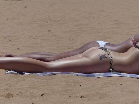 Фото бесплатно пляж, песок, солнце