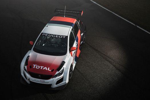 Фото бесплатно Peugeot 308 TCR, автомобили, автомобили 2018 года