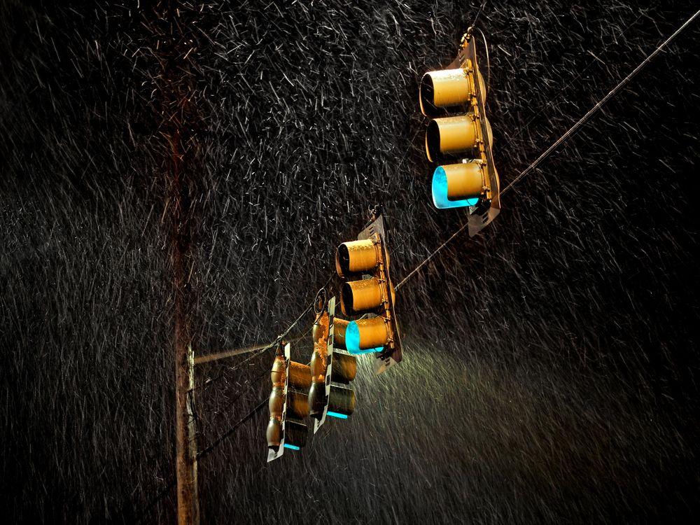 Фото бесплатно светофоры, фотография, дождь - на рабочий стол