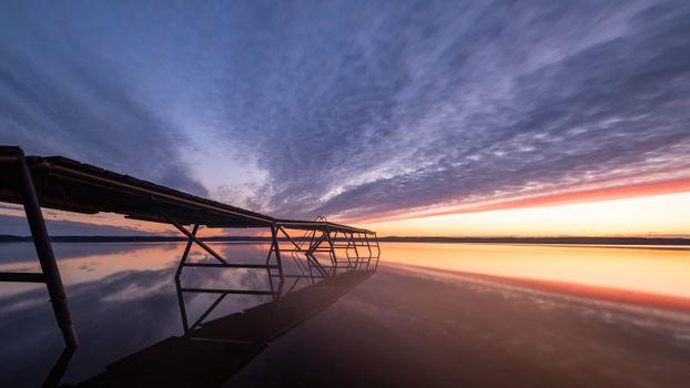 Фото бесплатно озеро, природа, мостик