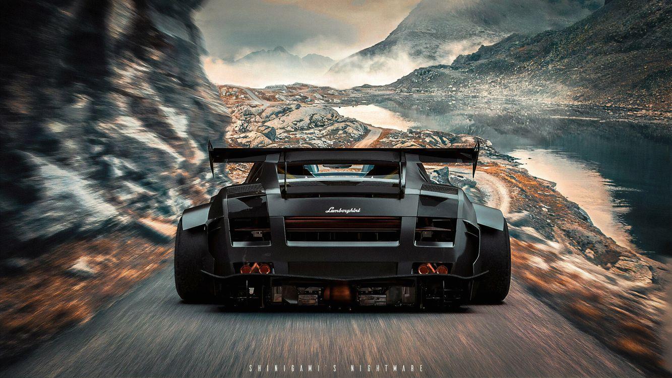 Обои Lamborghini, Artstation картинки на телефон