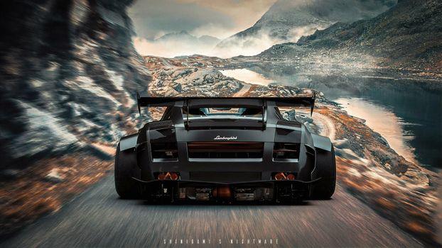 Фото бесплатно Lamborghini, Artstation