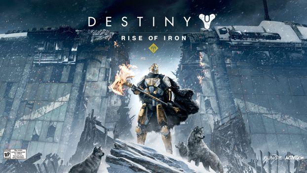 Photo free games, artwork, Destiny Rise Of Iron