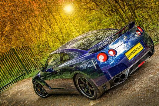 Photo free Nissan GT-R 3 8L V6 Twin Turbo Track Edition, car, cars
