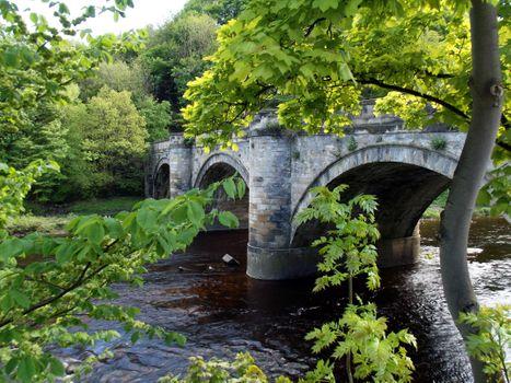 Фото бесплатно мост, пейзаж, река