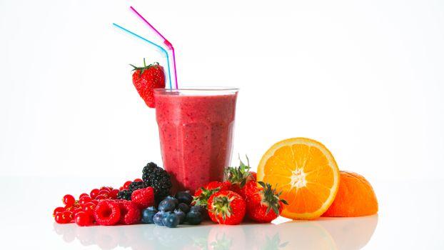 Фото бесплатно еда, фруктовый коктейль, апельсиновый фрукт