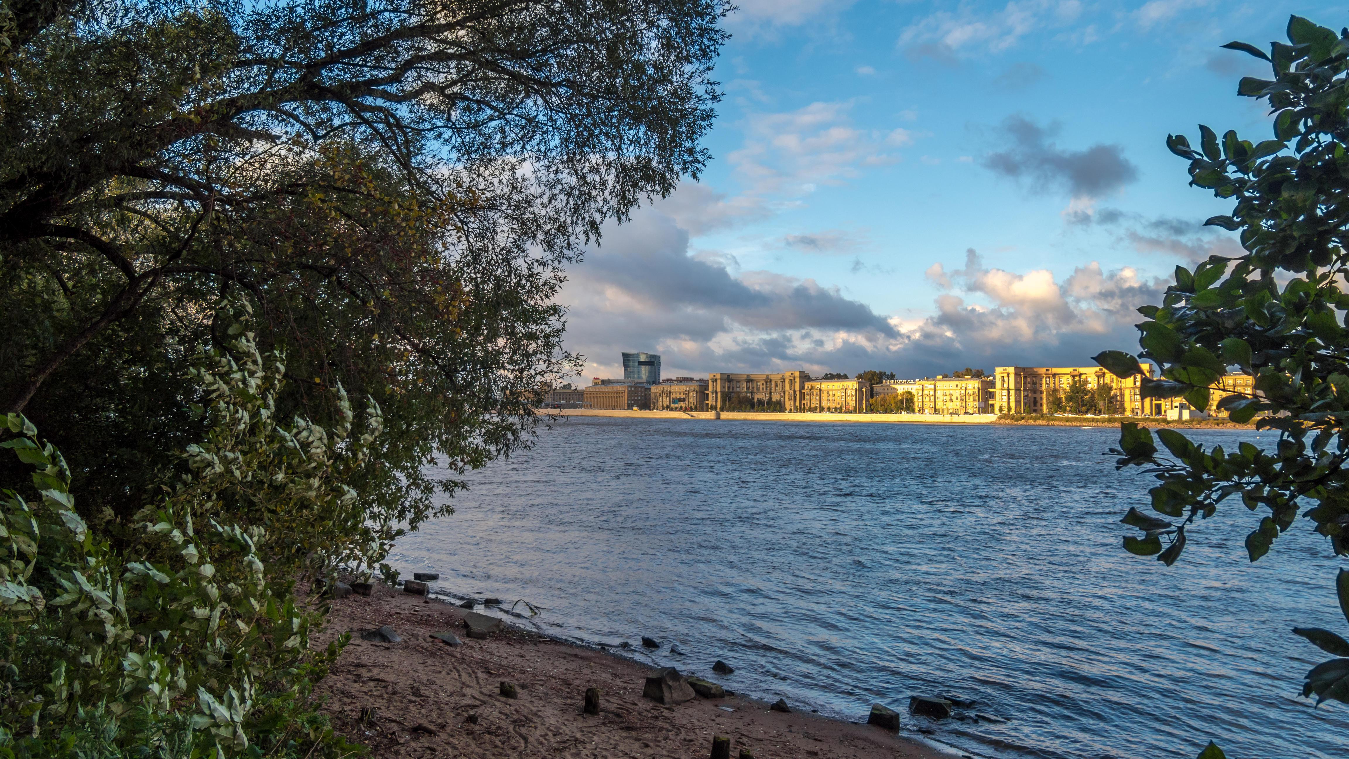 обои Neva river, St Petersburg картинки фото