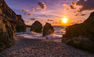 Заставки природа, океан, пляж
