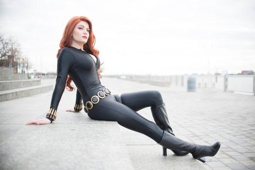 Photo free black widow, superheroes, cosplay
