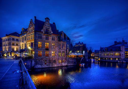 Фото бесплатно Ghent, Belgium, Гент