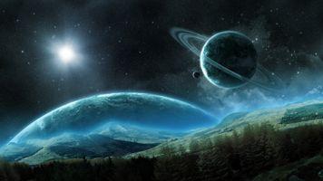 Заставки вселенная, невесомость, искусство
