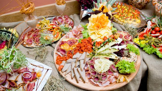 Фото бесплатно мясо, хлеб, овощи