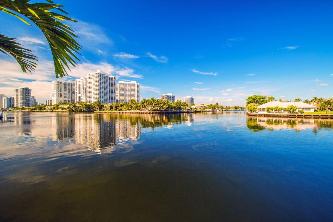 Фото бесплатно Майами, море, пейзаж - на рабочий стол
