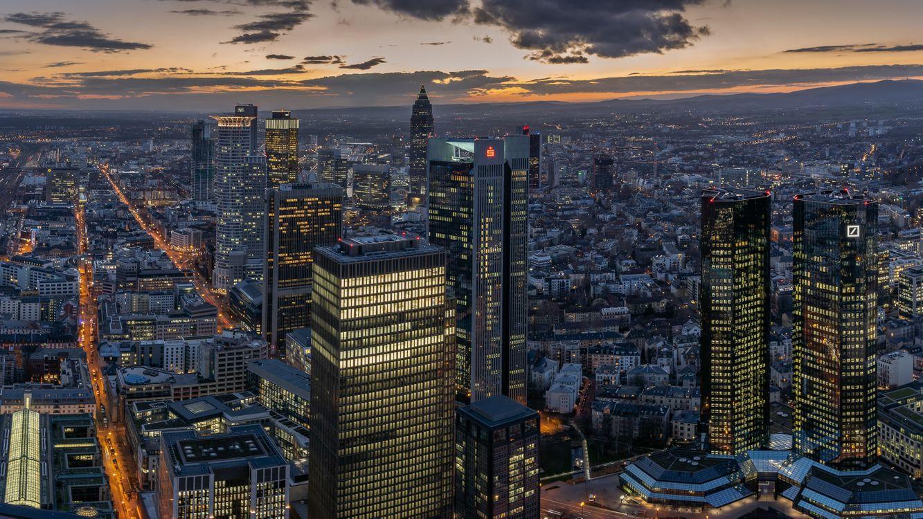 Фото бесплатно Германия, мир, небоскреба - на рабочий стол