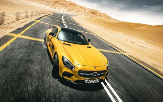Photo free SLS, Mercedes Benz, Mercedes