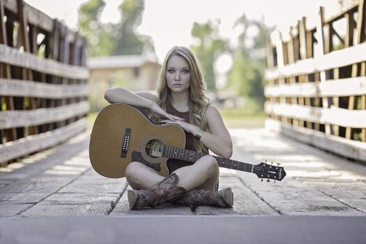 Photo free music, girl, woman